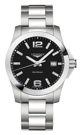 Longines L3.759.4.58.6 Conquest 41mm Erkek Saati