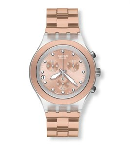 Swatch Irony SVCK4047AG Full Blooded Caramel Bayan Saati
