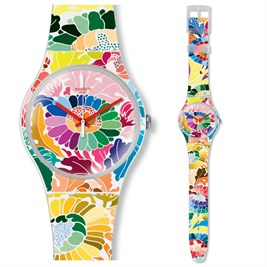 Swatch SUOW126 Flower Fool Bayan Saati